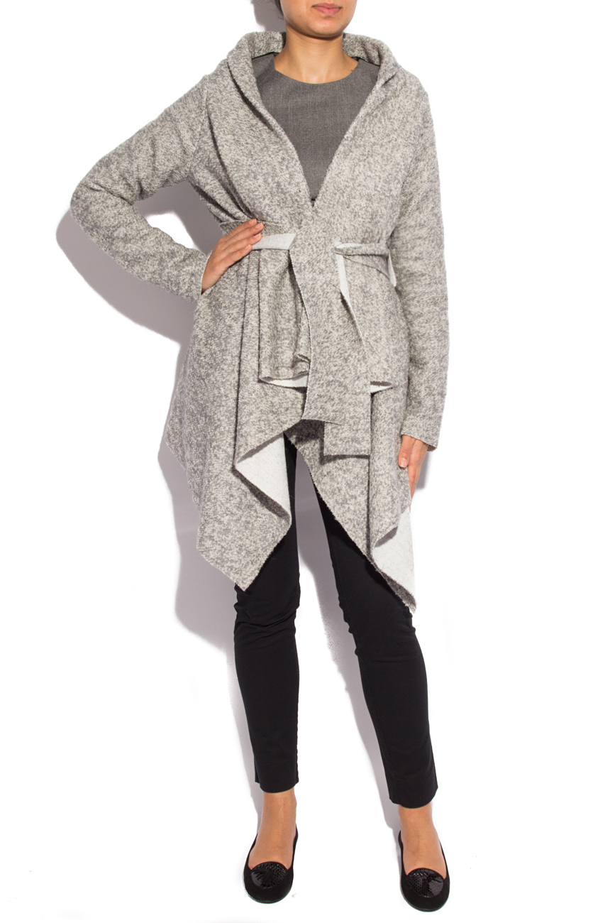 Manteau gris Dorin Negrau image 1