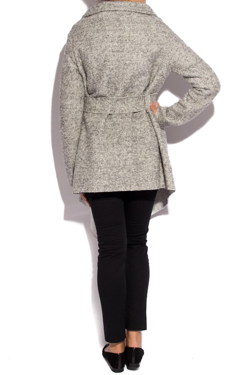 Grey cardigan Dorin Negrau image 2