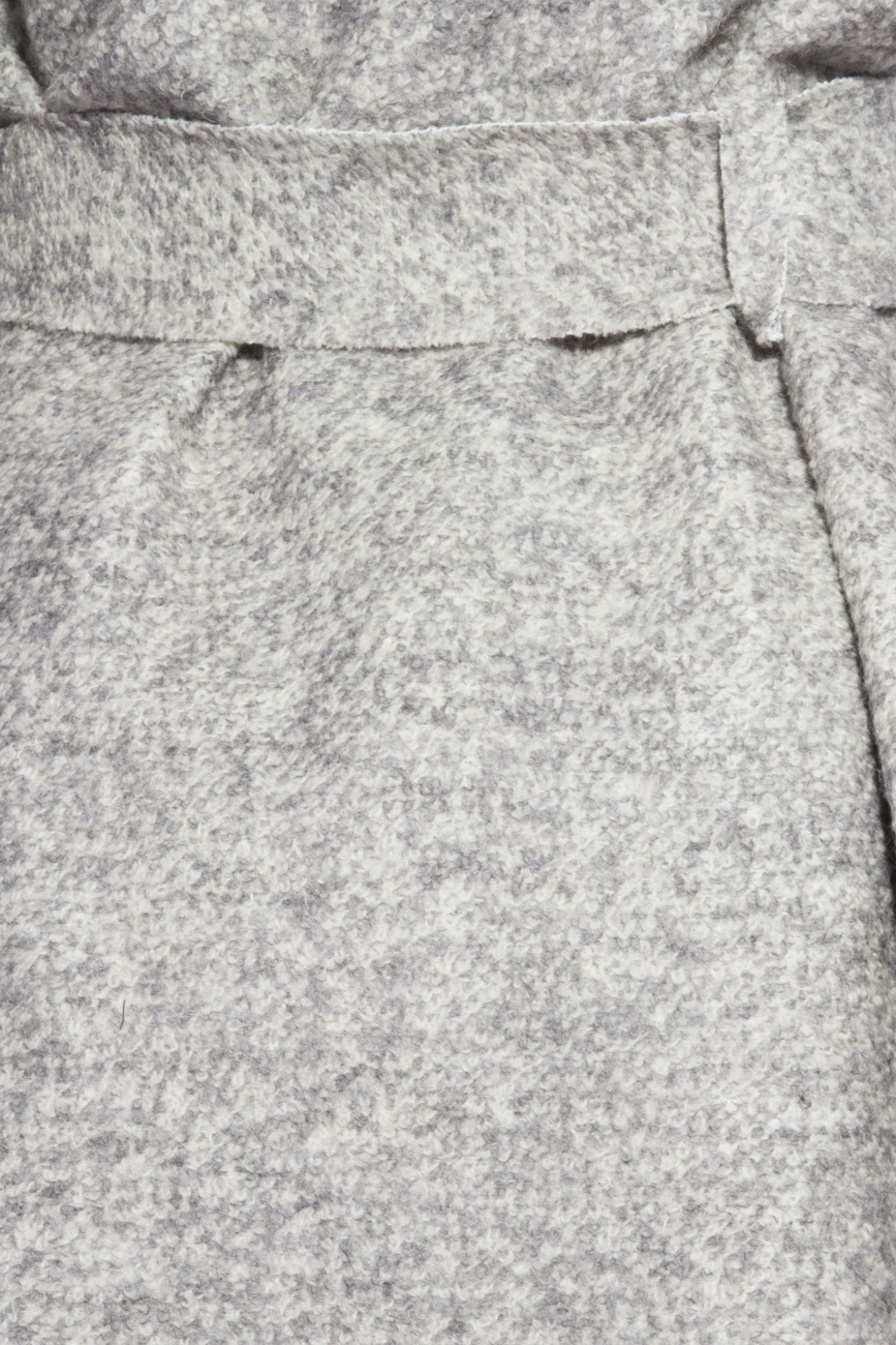 Grey cardigan Dorin Negrau image 3