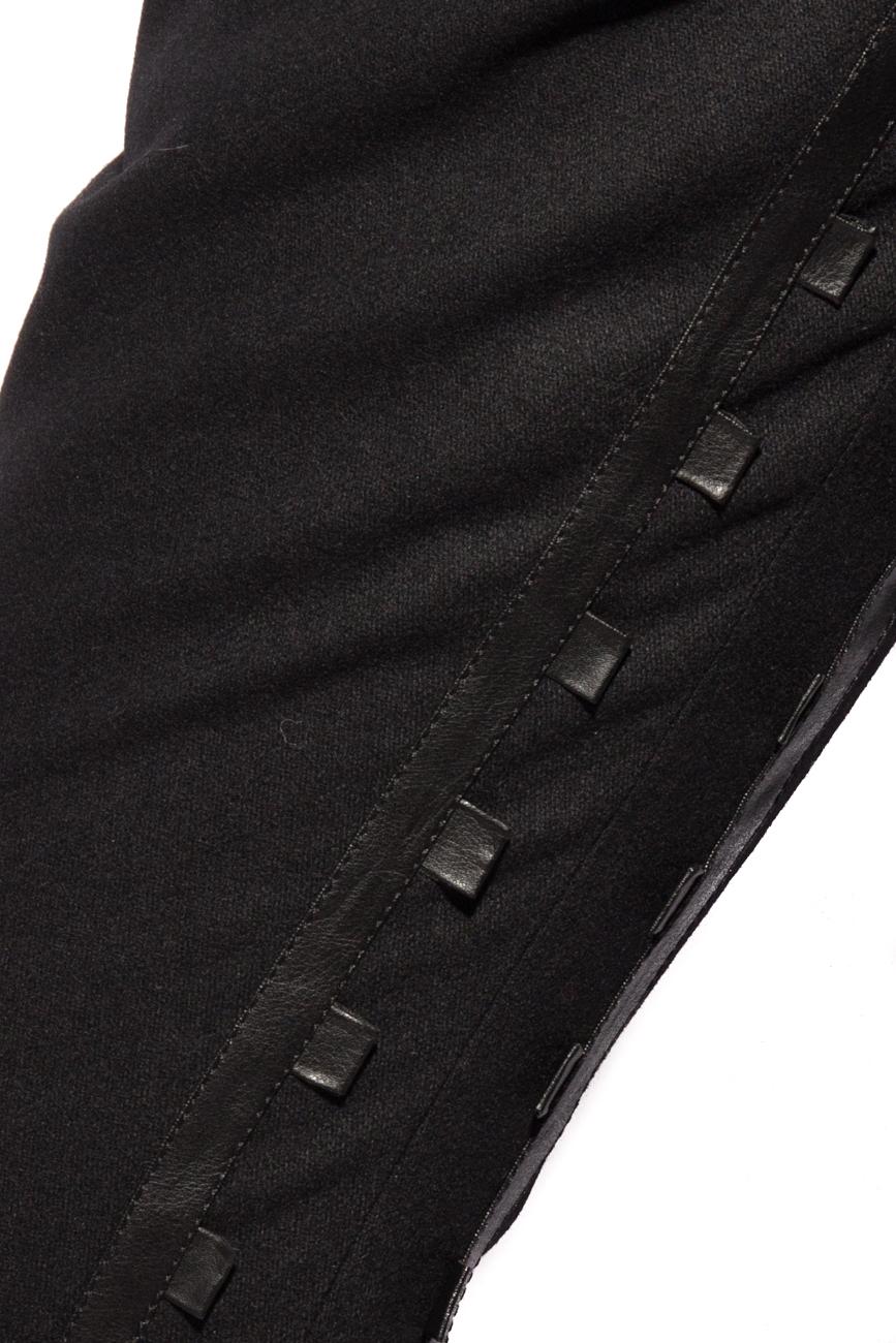 Pantalon avec ornements en cuir  Mirela Diaconu  image 3