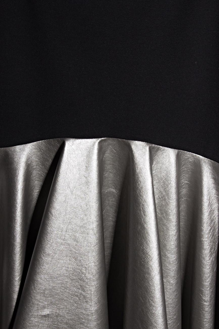 Skirt with silver ruffle Lena Criveanu image 3