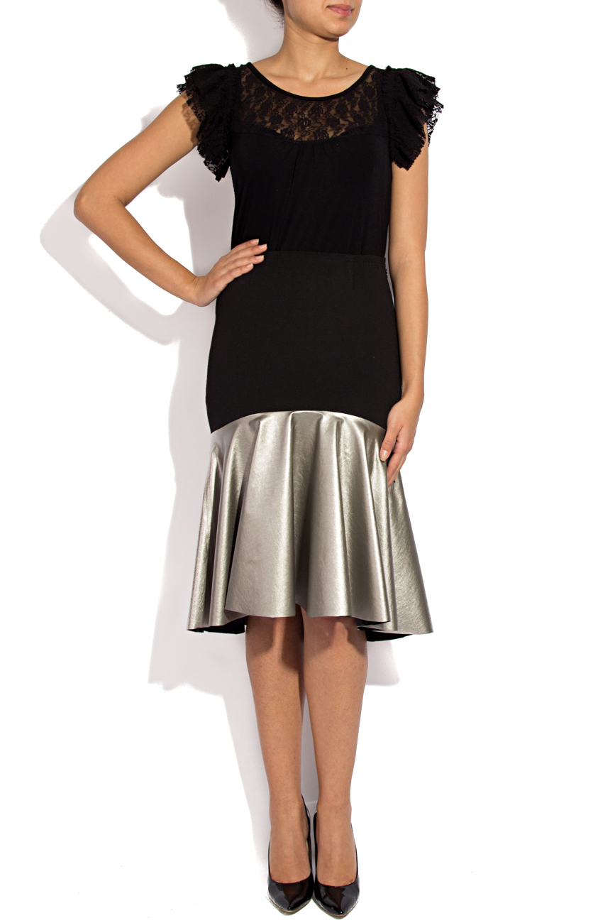 Skirt with silver ruffle Lena Criveanu image 0