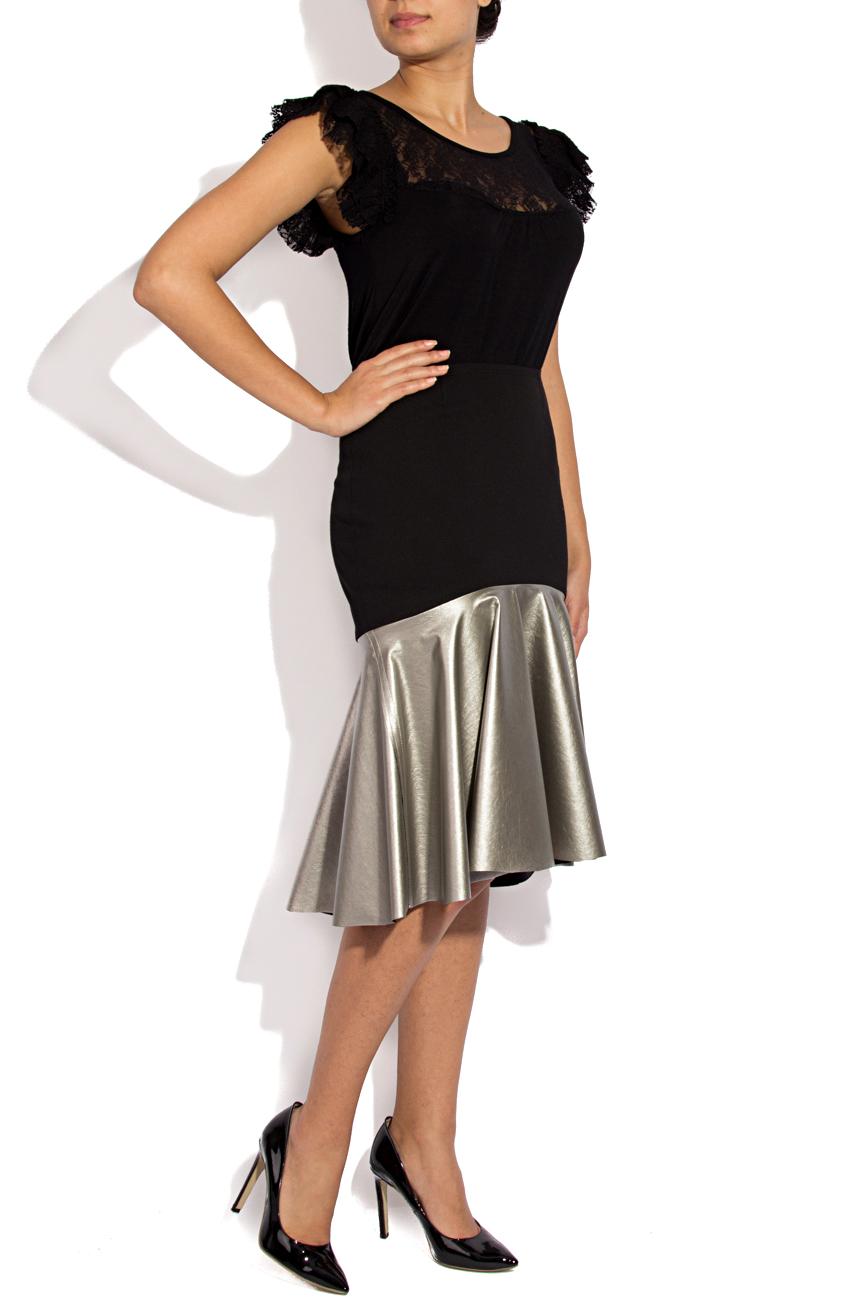 Skirt with silver ruffle Lena Criveanu image 1