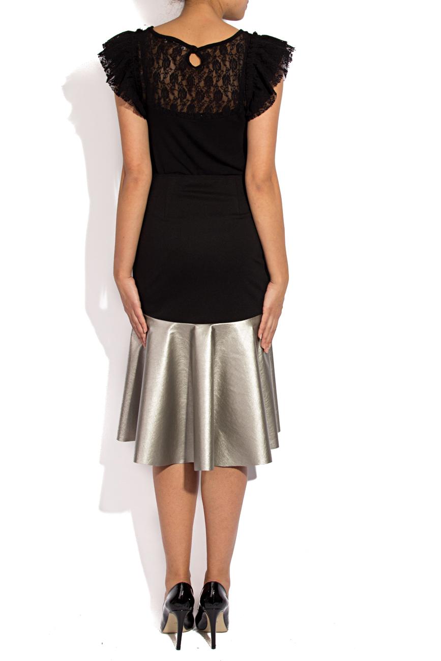Skirt with silver ruffle Lena Criveanu image 2