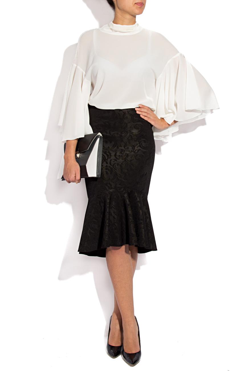 Midi skirt with ruffles Lena Criveanu image 0