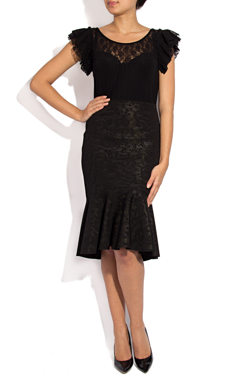 Midi skirt with ruffles Lena Criveanu image 1