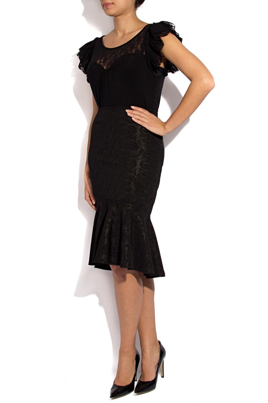 Midi skirt with ruffles Lena Criveanu image 2