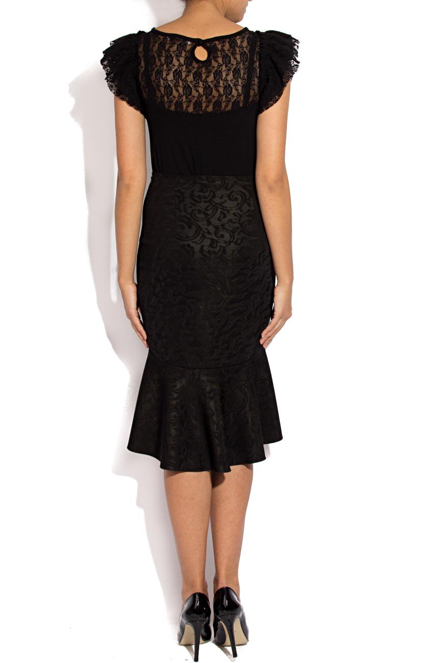 Midi skirt with ruffles Lena Criveanu image 3