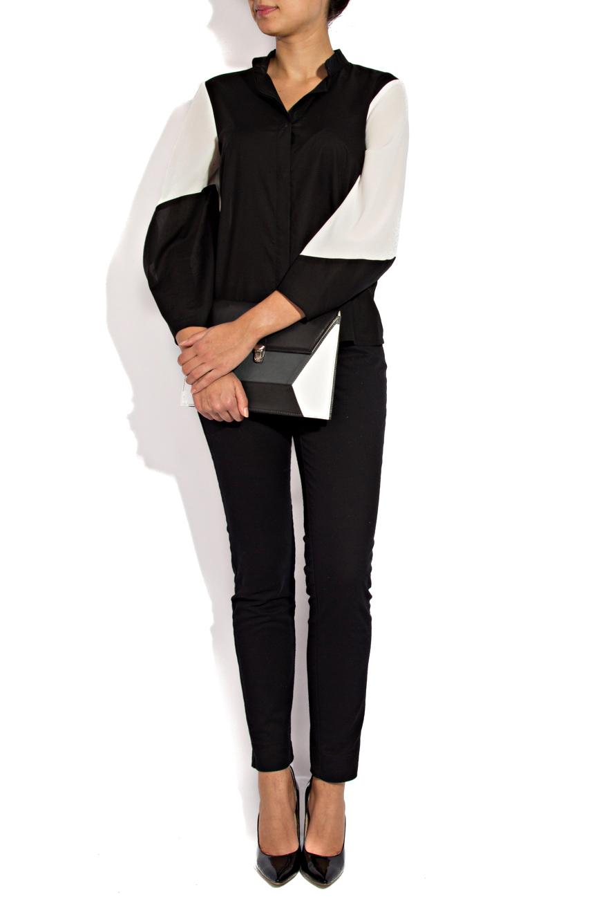 Black and white shirt Lena Criveanu image 1
