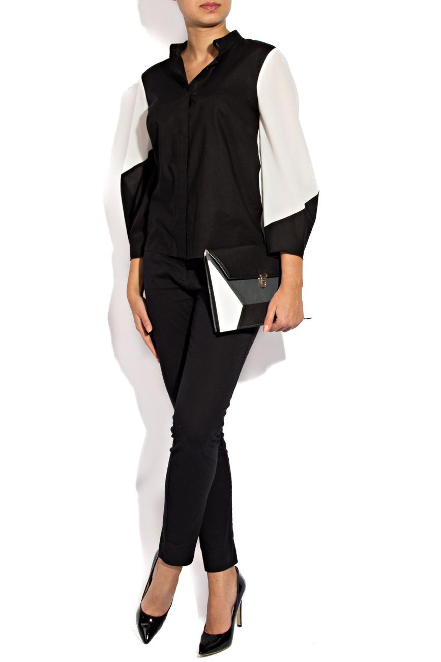 Black and white shirt Lena Criveanu image 0