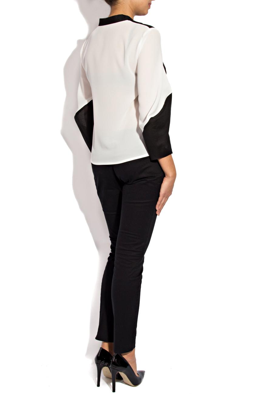 Black and white shirt Lena Criveanu image 2