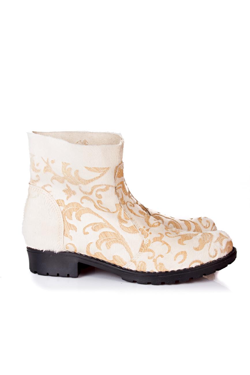 Beige boots Giuka by Nicolaescu Georgiana  image 0