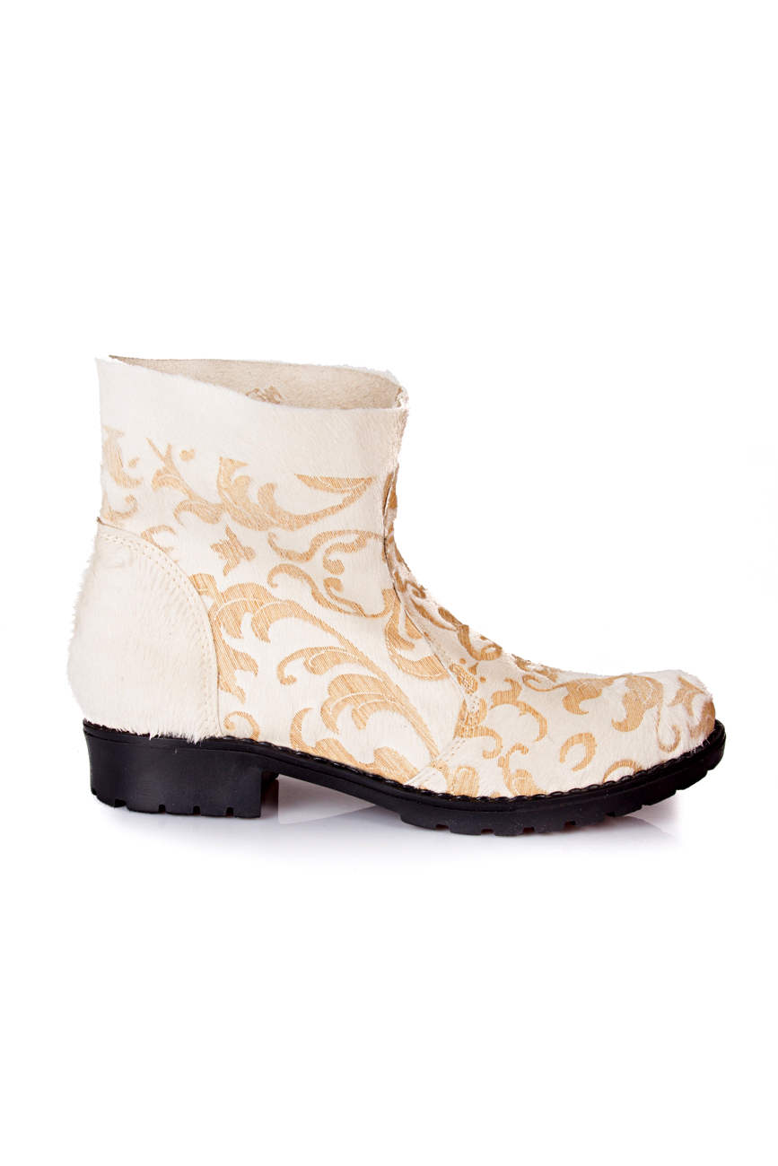 Beige boots Giuka by Nicolaescu Georgiana  image 1