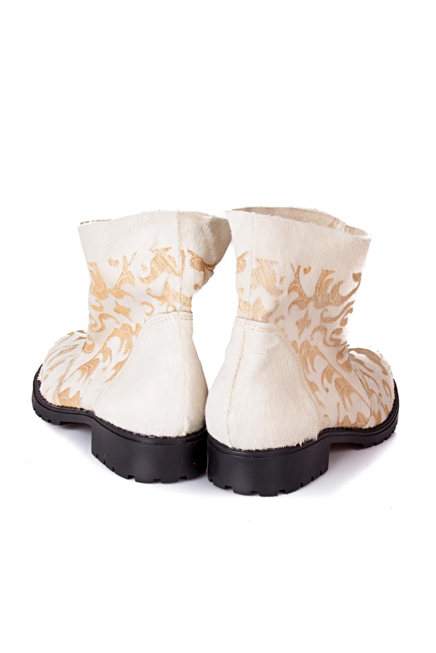 Beige boots Giuka by Nicolaescu Georgiana  image 2