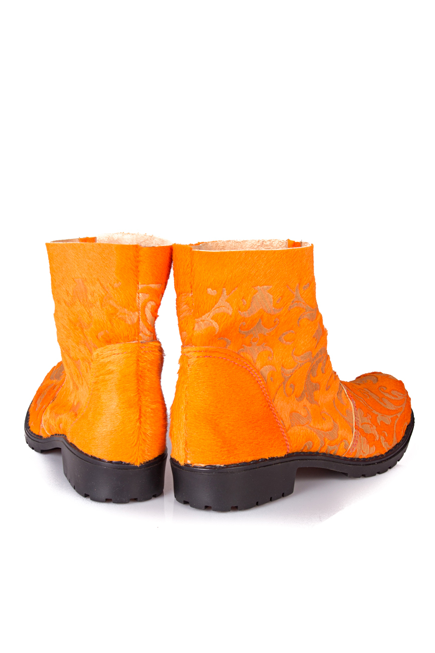 Orange boots Giuka by Nicolaescu Georgiana  image 2
