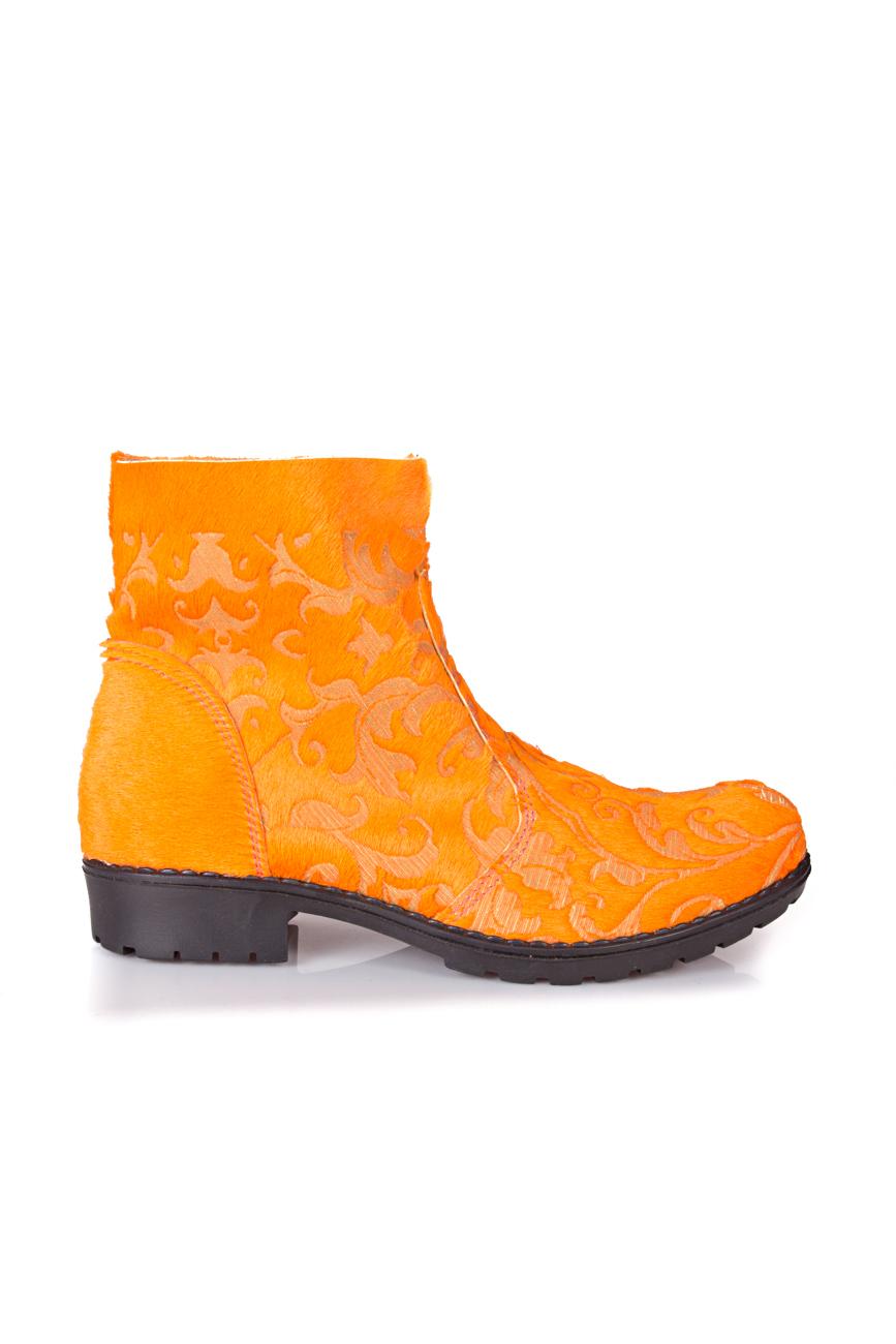 Orange boots Giuka by Nicolaescu Georgiana  image 1