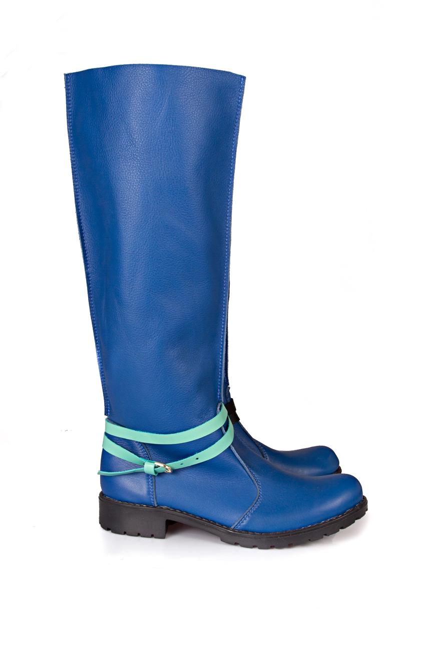 Blue boots Giuka by Nicolaescu Georgiana  image 0