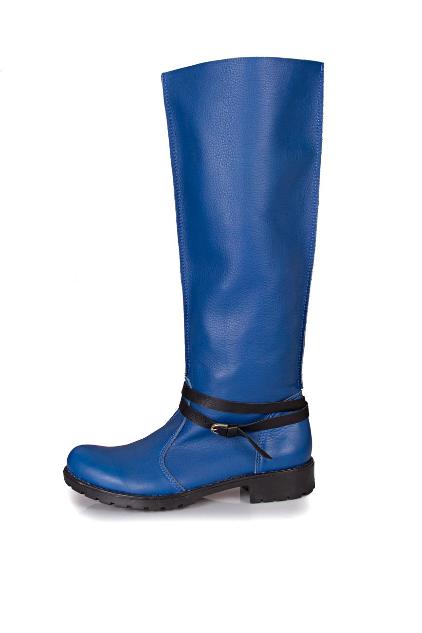 Blue boots Giuka by Nicolaescu Georgiana  image 1
