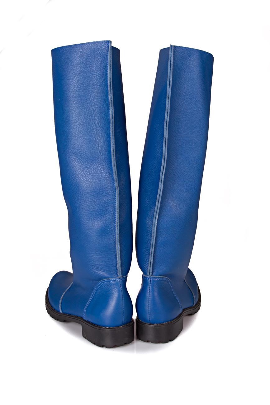 Blue boots Giuka by Nicolaescu Georgiana  image 2