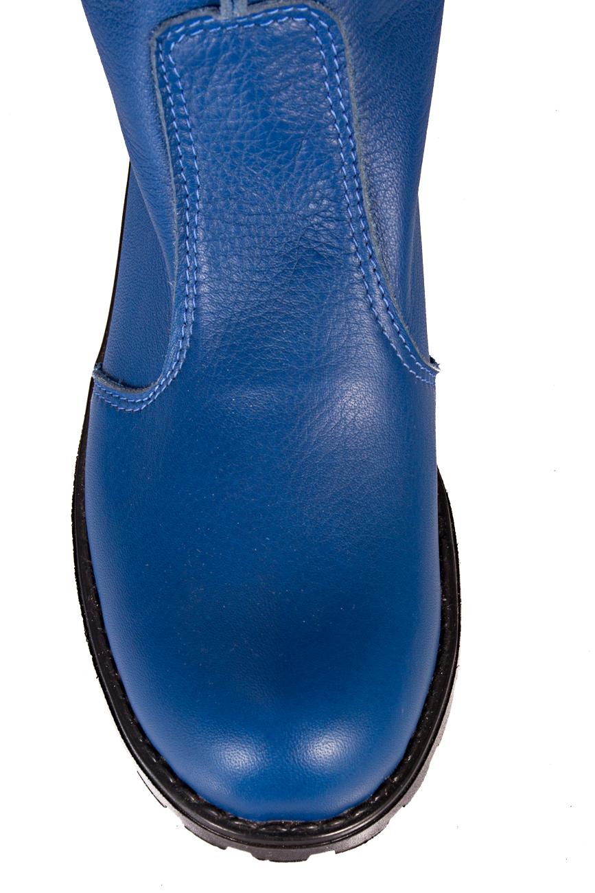 Blue boots Giuka by Nicolaescu Georgiana  image 3
