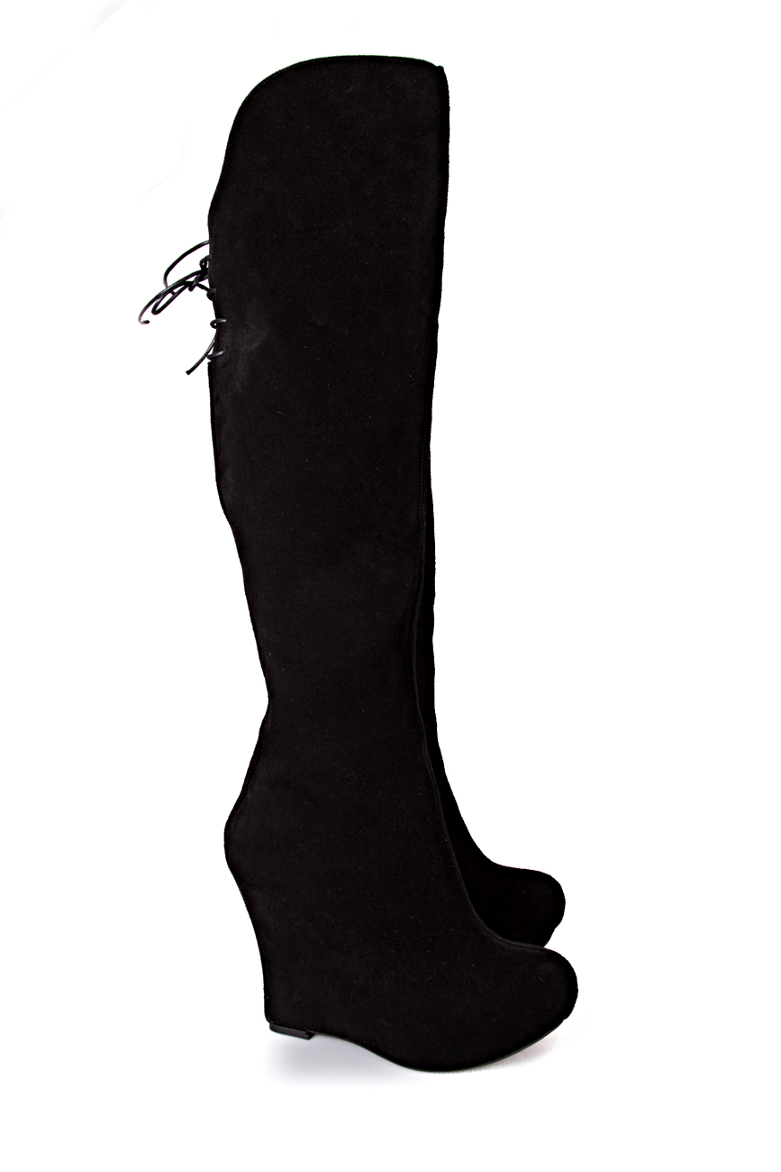 Cizme peste genunchi Ana Kaloni imagine 0