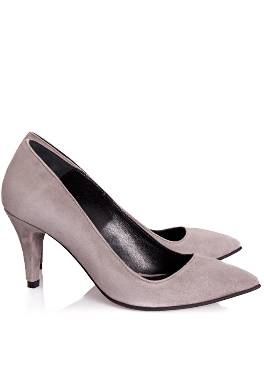 Gray shoes with medium heel Mihaela Glavan  image 0