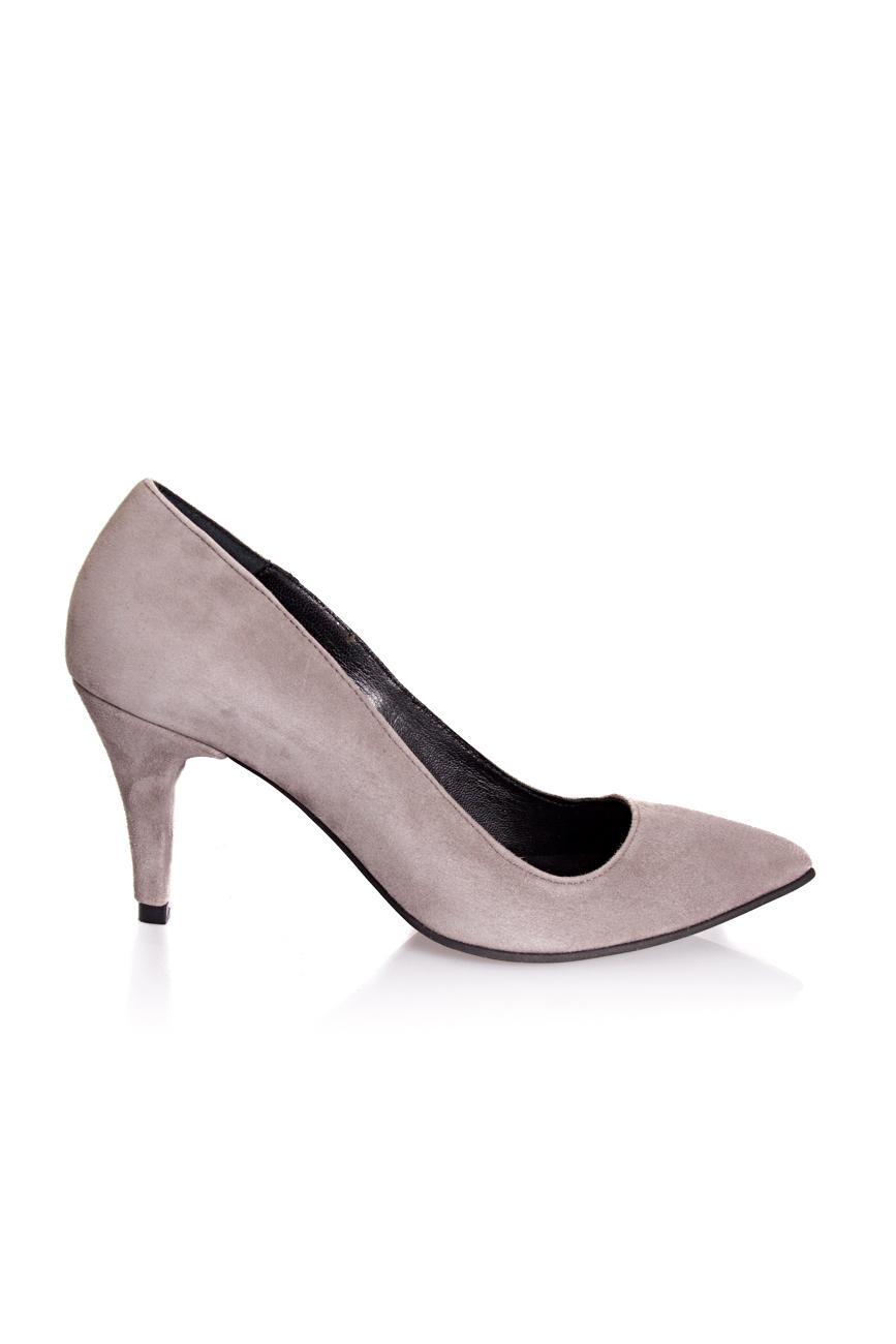Gray shoes with medium heel Mihaela Glavan  image 1
