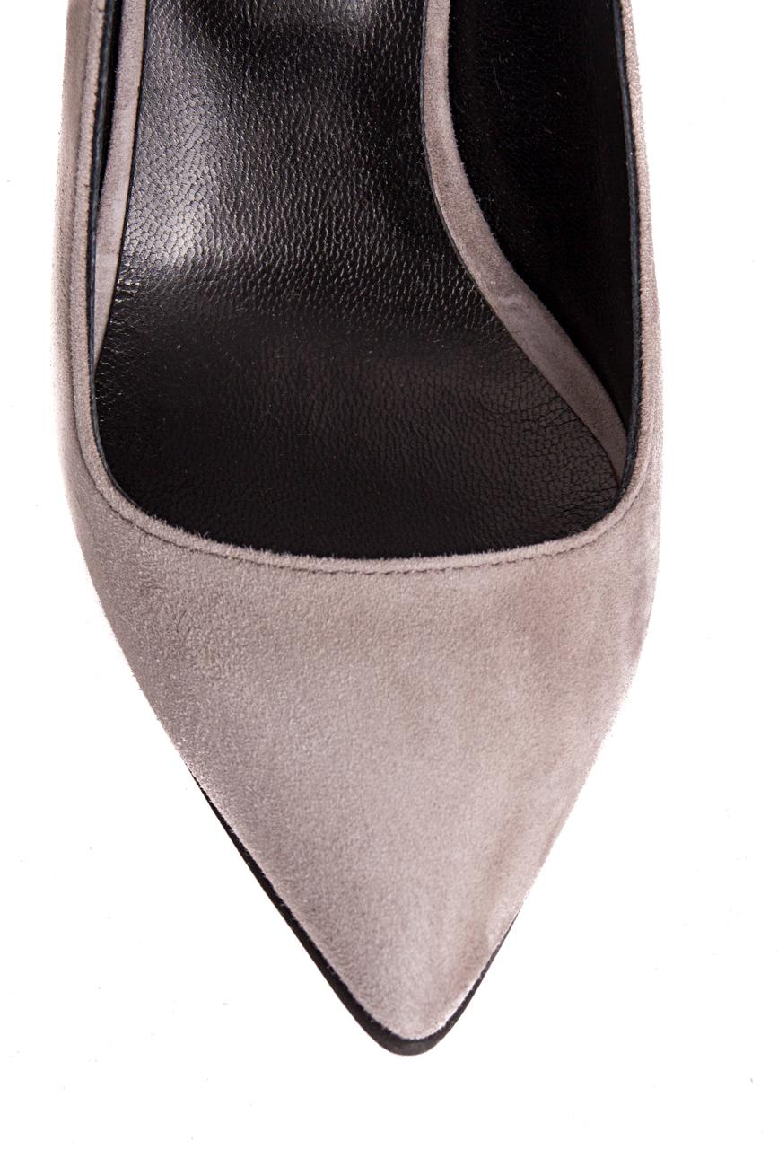 Gray shoes with medium heel Mihaela Glavan  image 3