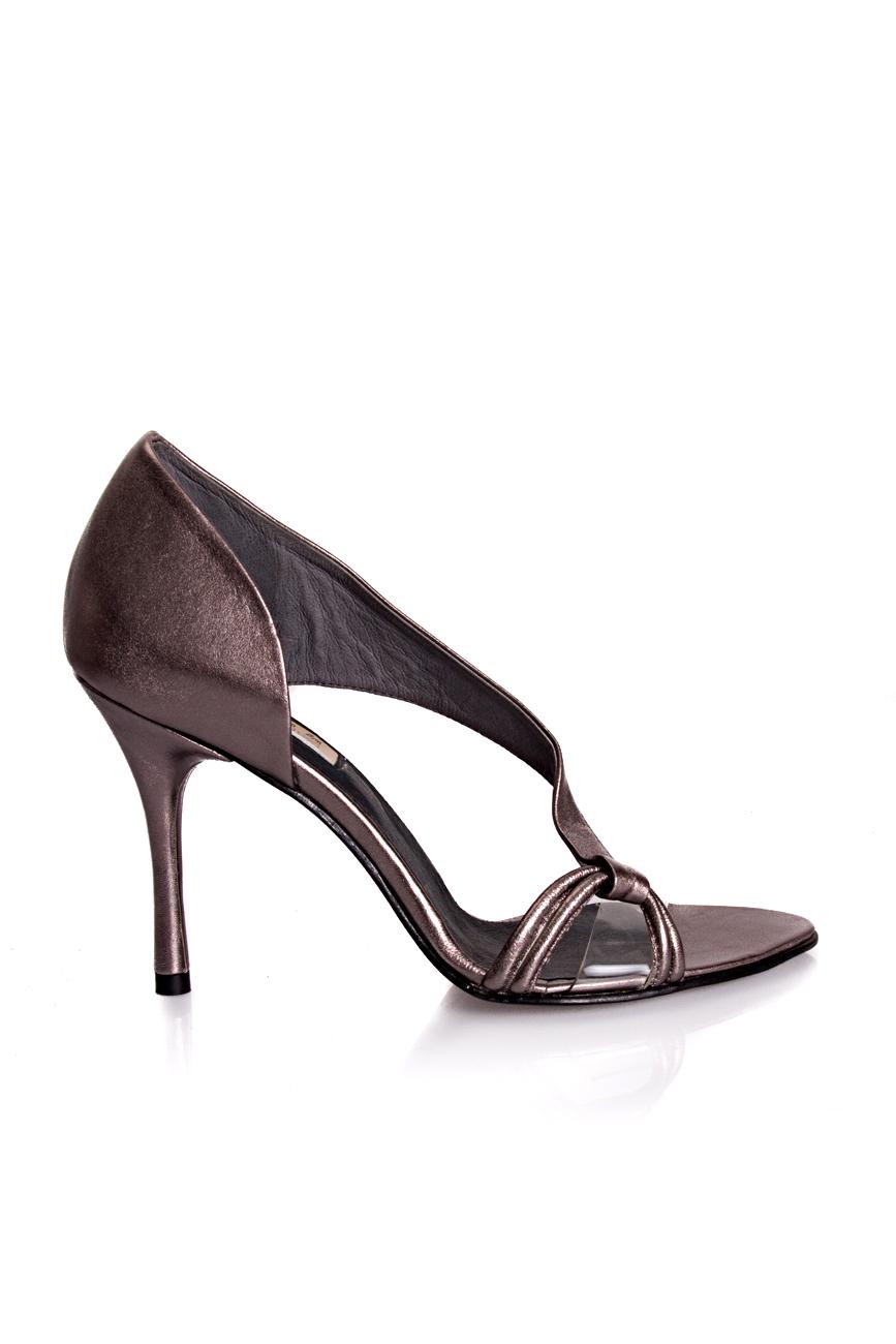 Silver sandals Mihaela Glavan  image 1