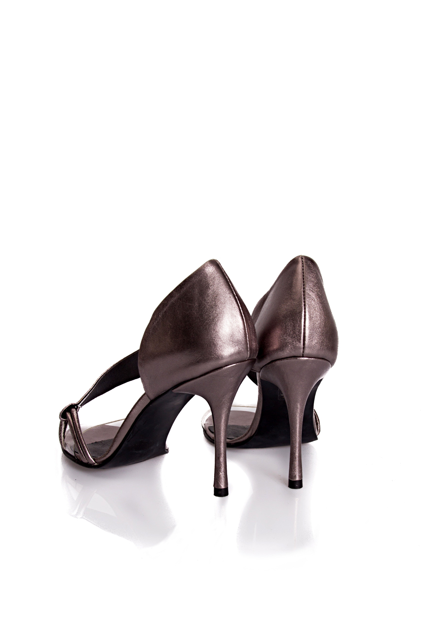 Silver sandals Mihaela Glavan  image 2