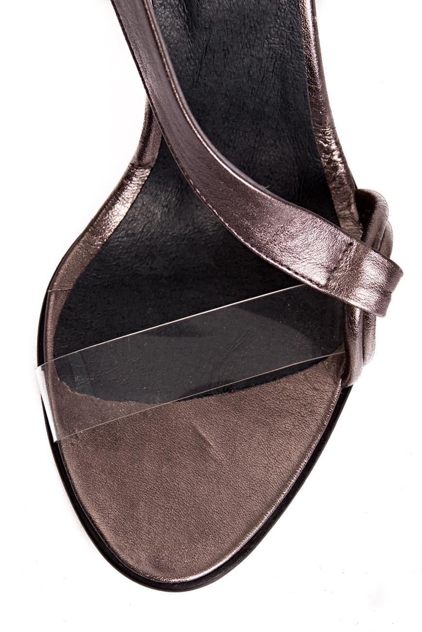 Sandales argentées  Mihaela Glavan  image 3