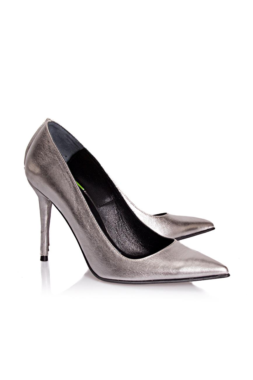 Silver shoes Mihaela Glavan  image 0