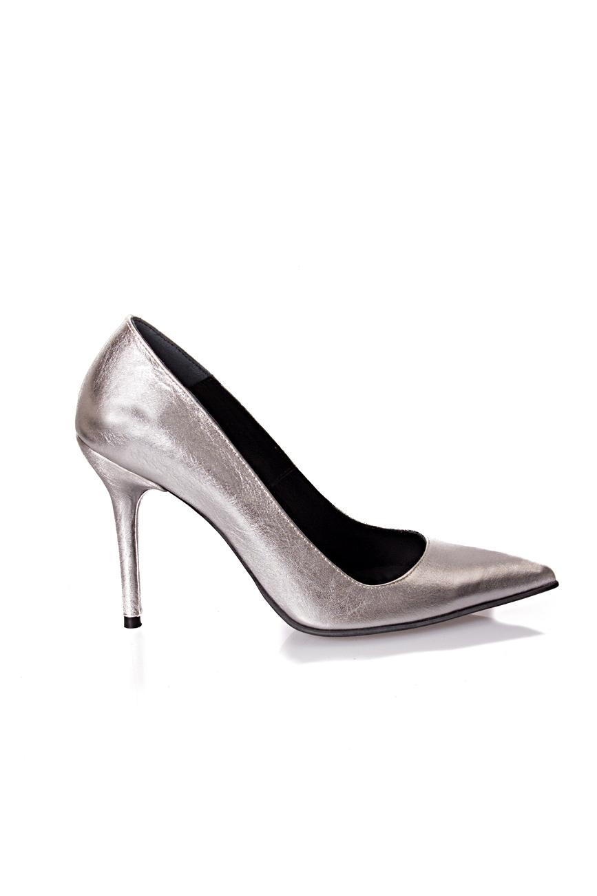 Silver shoes Mihaela Glavan  image 1