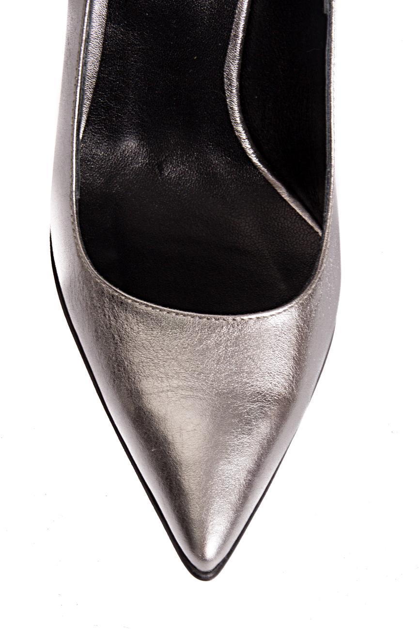 Silver shoes Mihaela Glavan  image 3