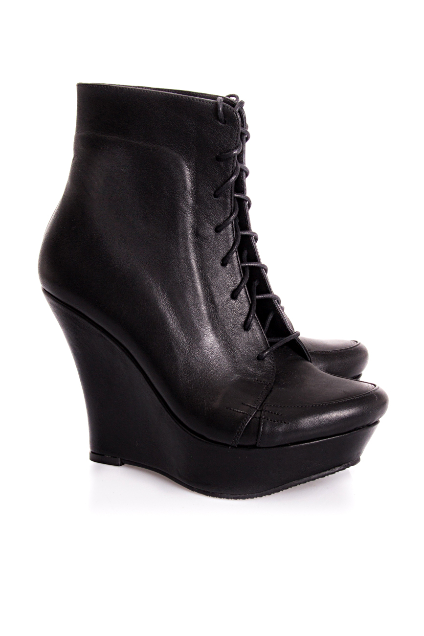 Ankle boots with lacing Mihaela Glavan  image 0