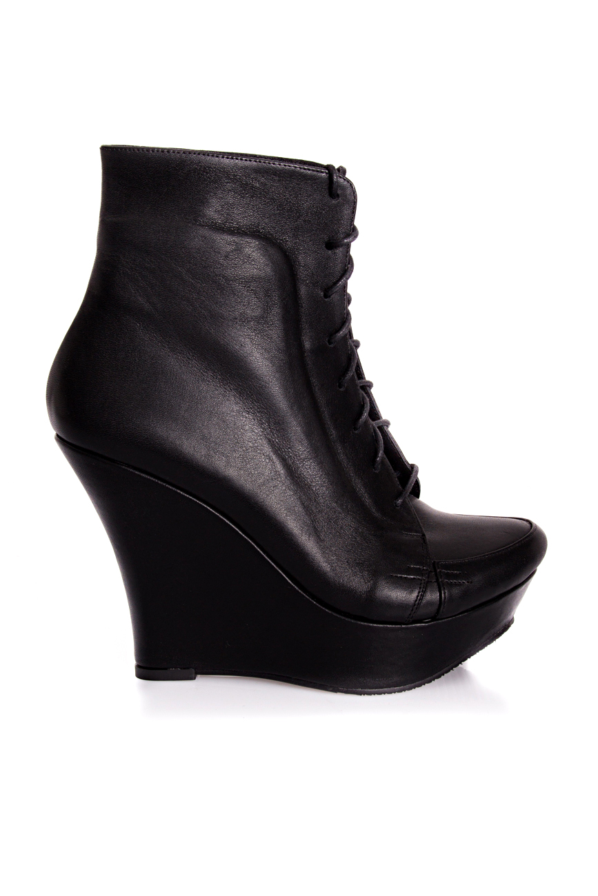 Ankle boots with lacing Mihaela Glavan  image 1