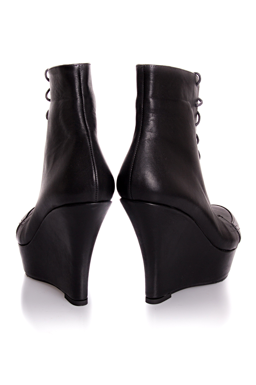 Ankle boots with lacing Mihaela Glavan  image 2
