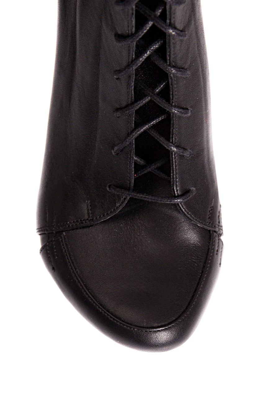 Ankle boots with lacing Mihaela Glavan  image 3