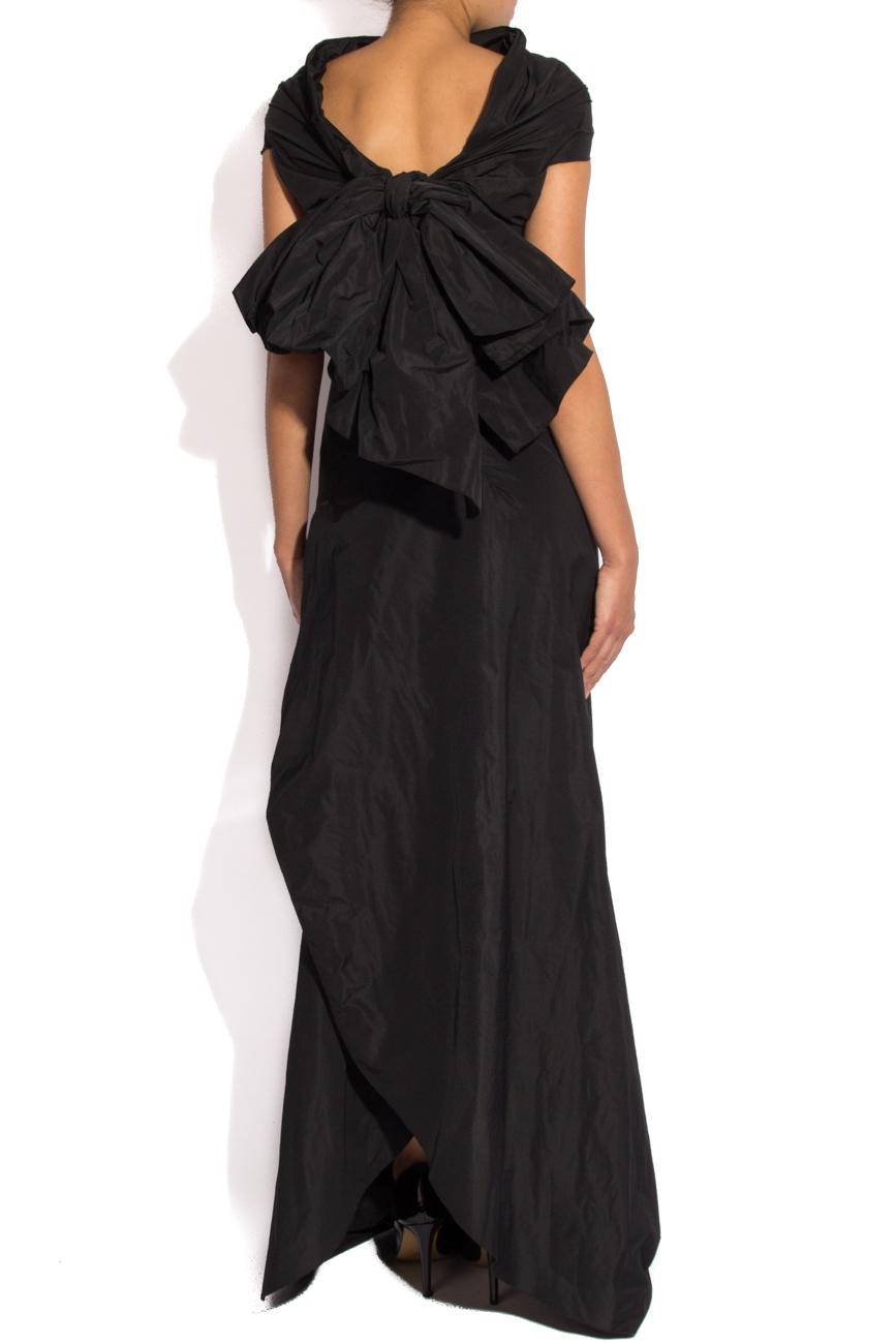 Robe en taffetas avec nœud Lena Criveanu image 2