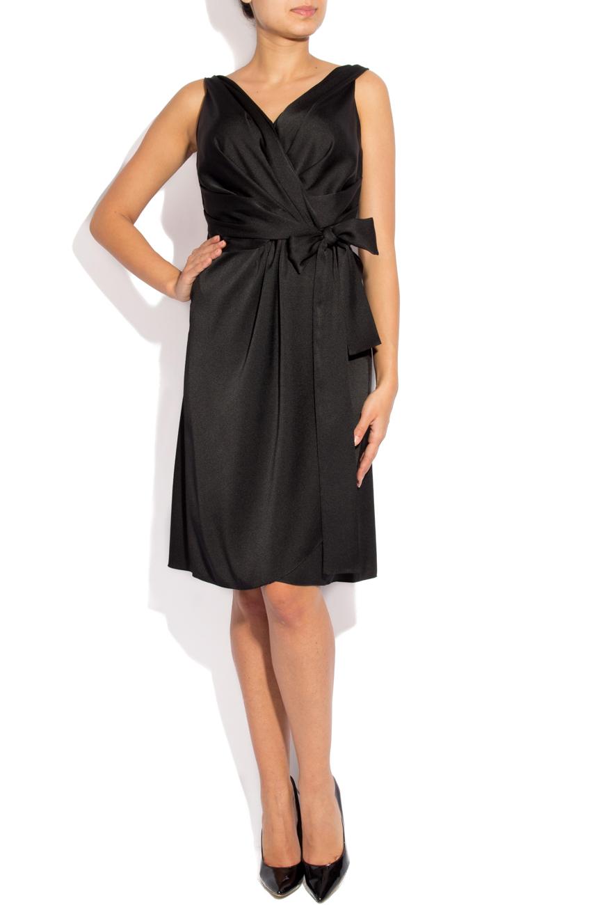 Black dress with folds Lena Criveanu image 0