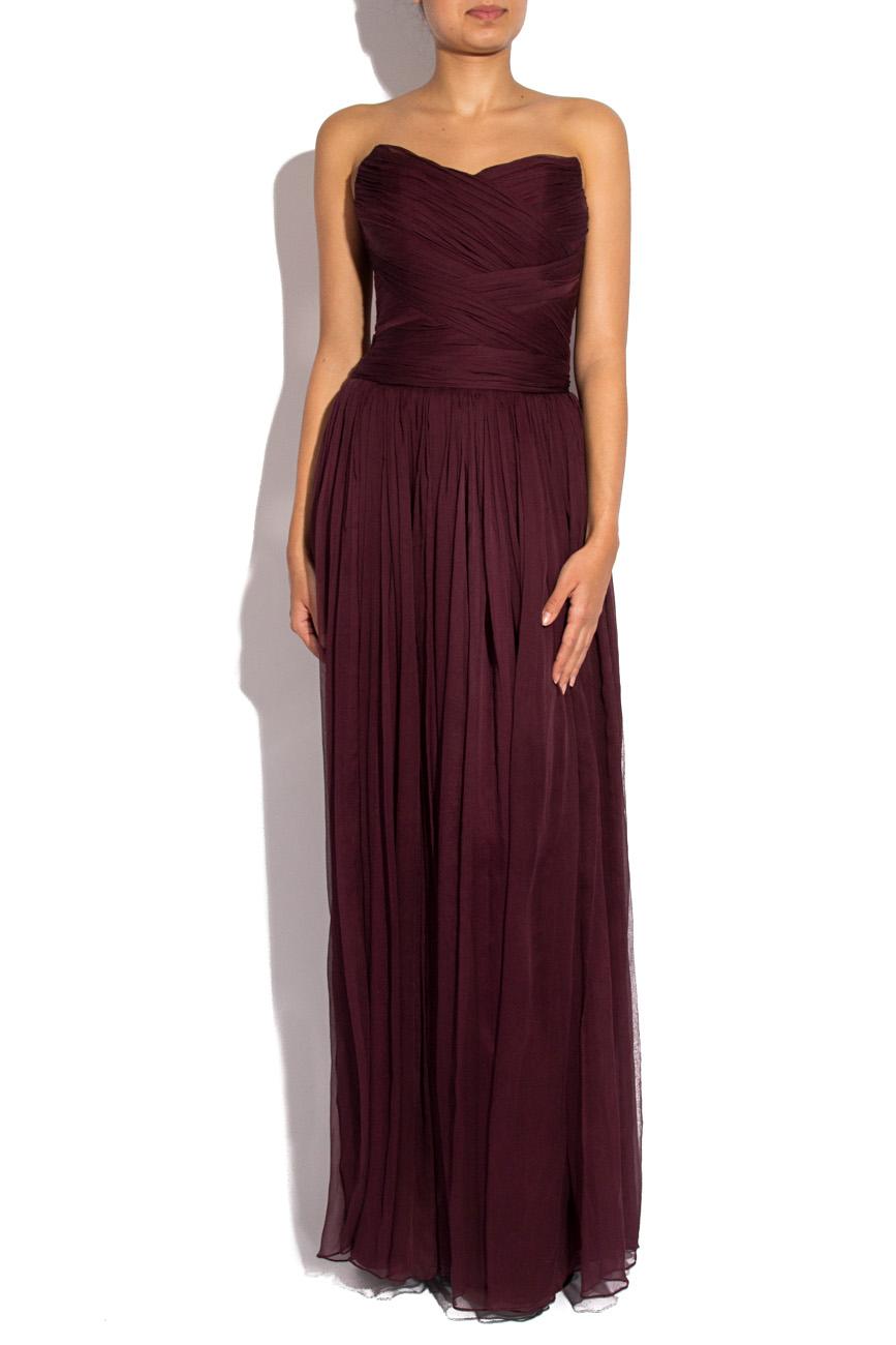 Long veil dress Mirela Diaconu  image 0