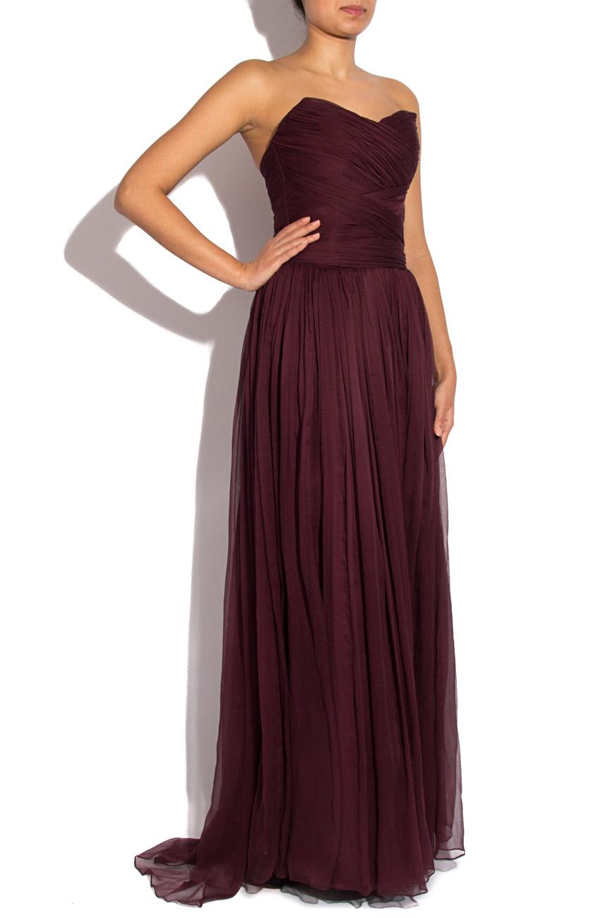 Long veil dress Mirela Diaconu  image 1
