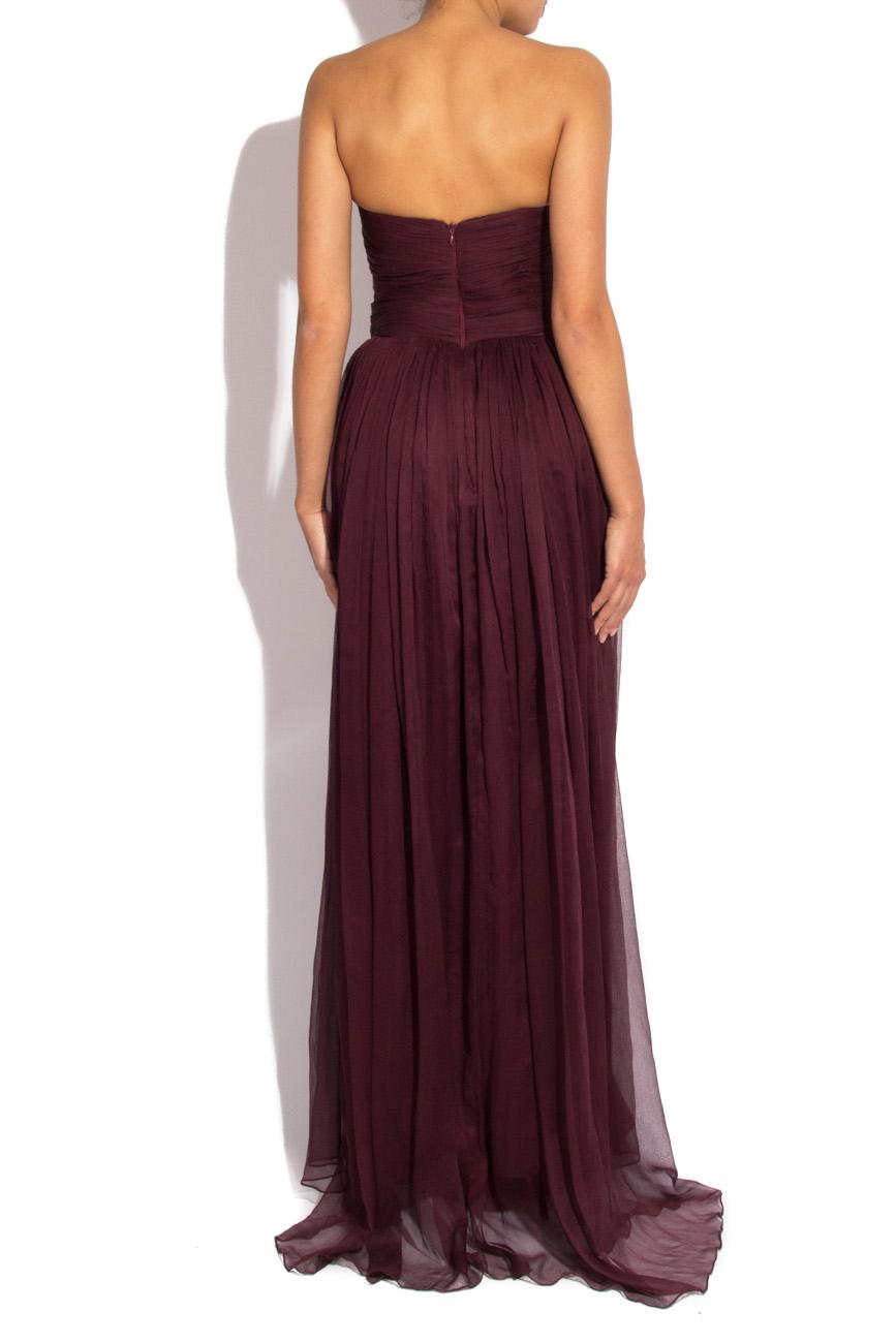 Long veil dress Mirela Diaconu  image 2