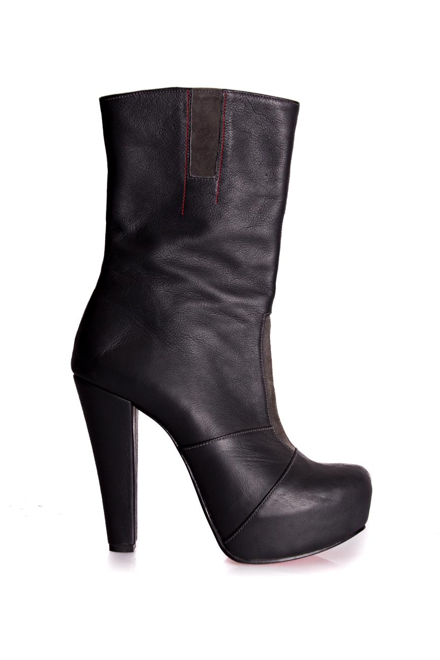 Cizme toc 13 Mono Shoes by Dumitru Mihaica imagine 1