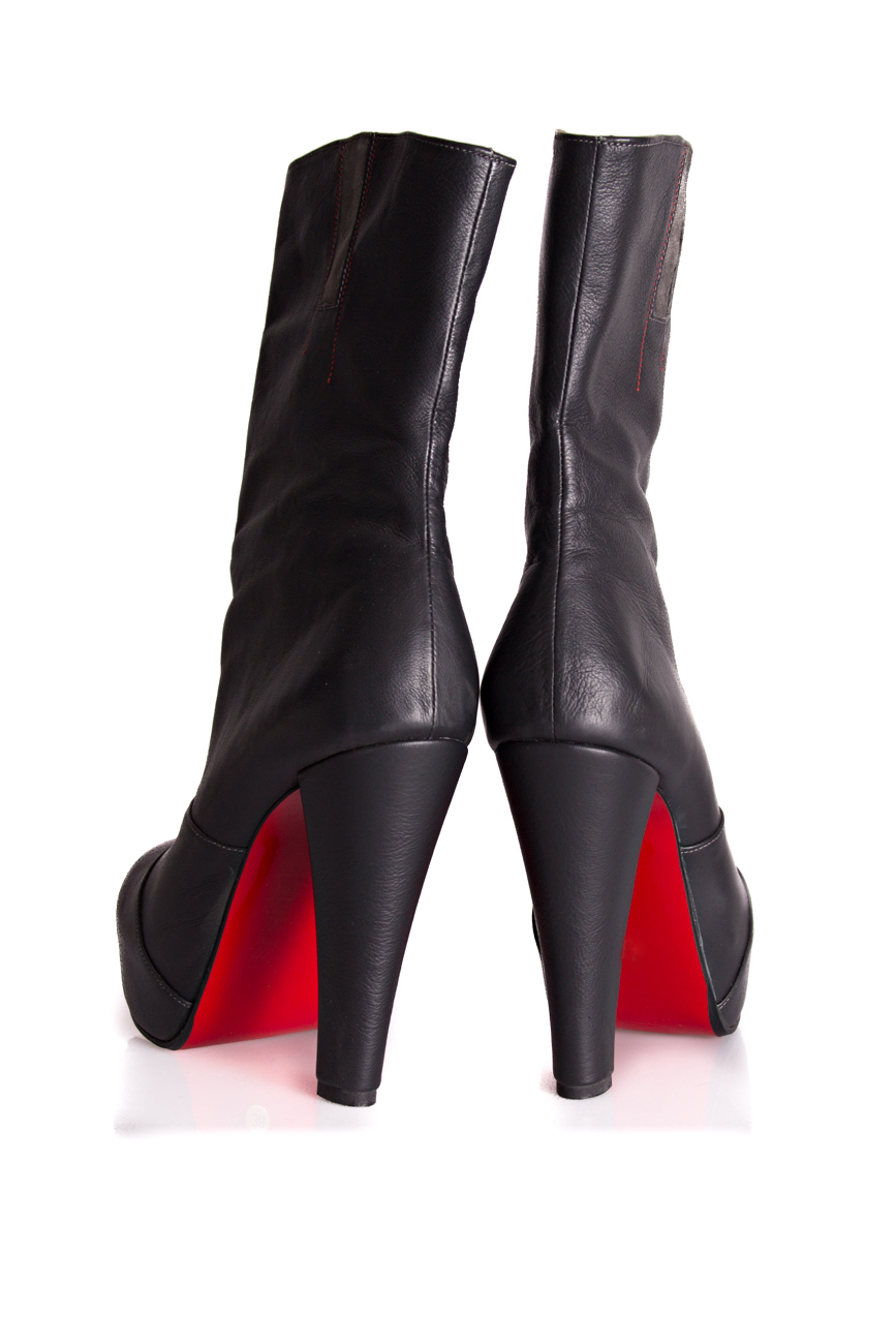 Cizme toc 13 Mono Shoes by Dumitru Mihaica imagine 2