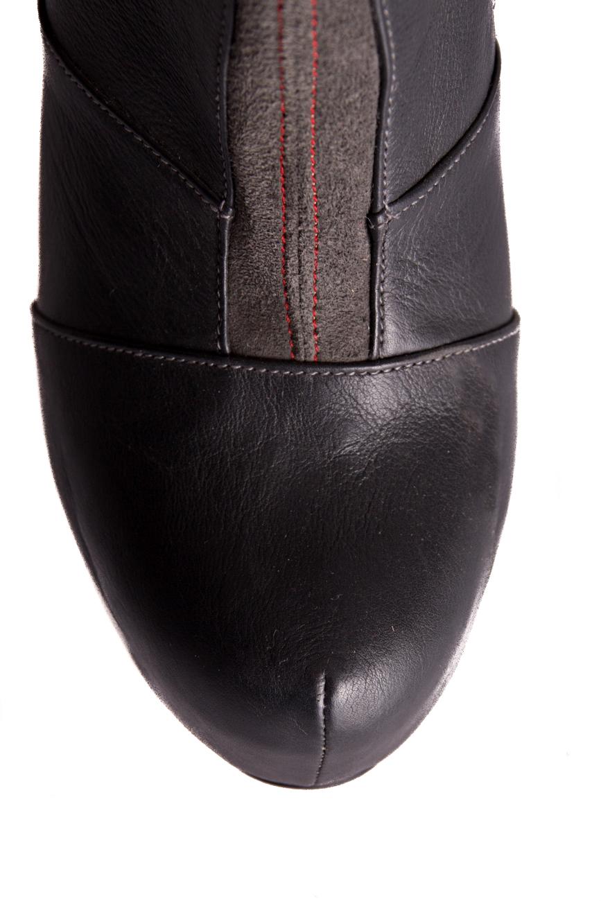 Cizme toc 13 Mono Shoes by Dumitru Mihaica imagine 3
