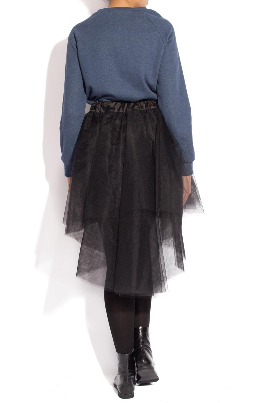 Black tulle skirt Izabela Mandoiu image 2