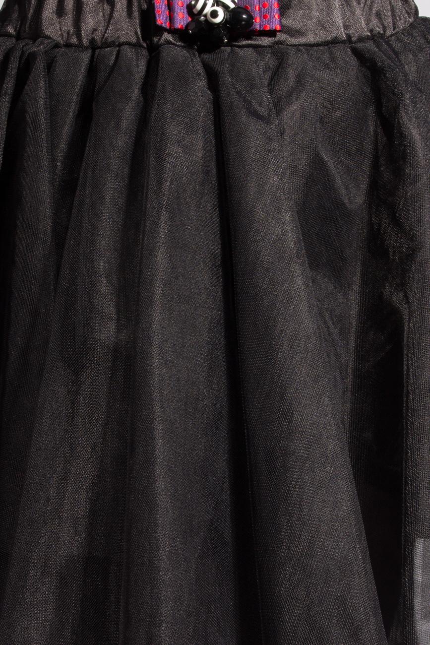 Black tulle skirt Izabela Mandoiu image 3