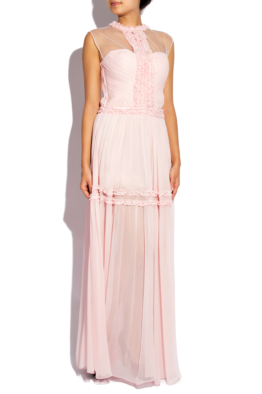 Long dress with bodice and tulle Elena Perseil image 1