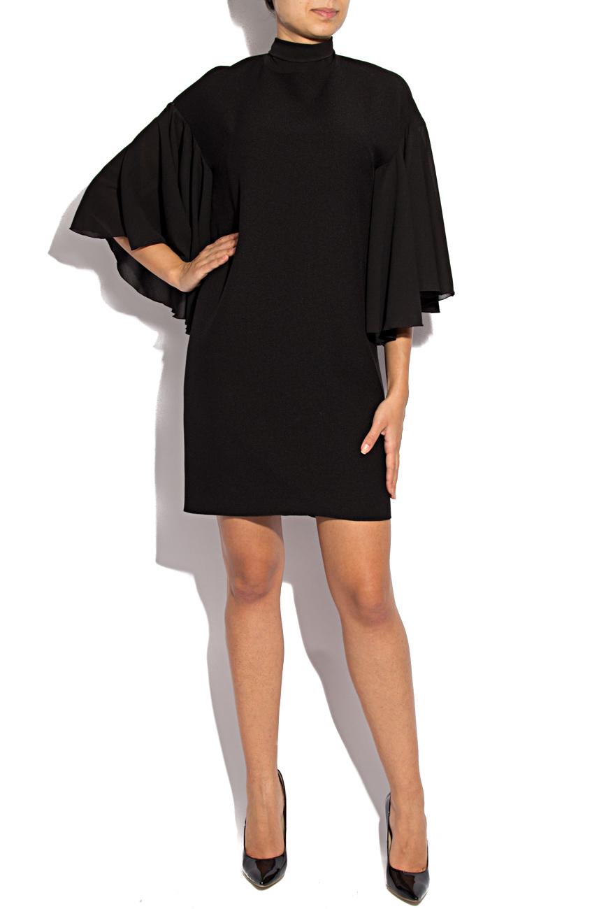Robe en triple voile noir Lena Criveanu image 0